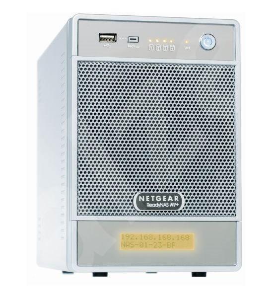 Netgear RND4210 Ready NAS NV+ - Chytré domácí úložiště