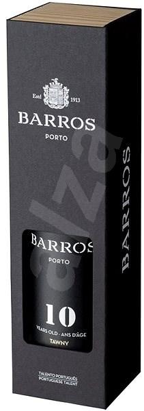 BARROS 10let porto GB dřevo 750 ml - Víno