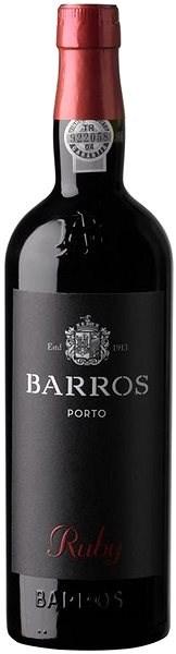 BARROS Ruby Porto 750 ml - Víno