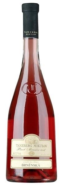 TANZBERG Pinot Meunier Rosé pozdní sběr 2018 750 ml - Víno