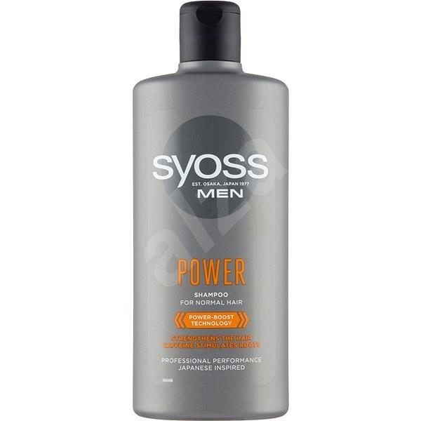 SYOSS Power&Strength Shampoo 440 ml - Šampon pro muže
