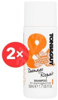 TONI&GUY Damage Repair Shampoo 2 × 50 ml - Šampon