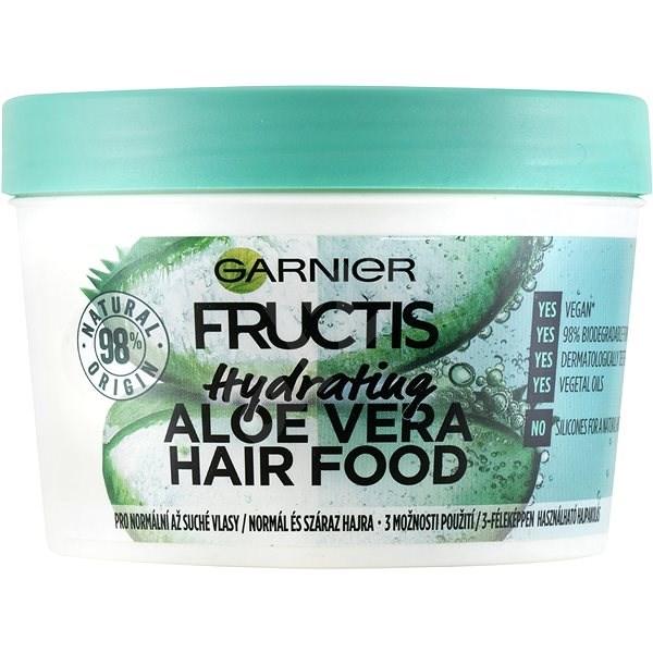 GARNIER Fructis Aloe Hair Food Mask 390 ml - Maska na vlasy