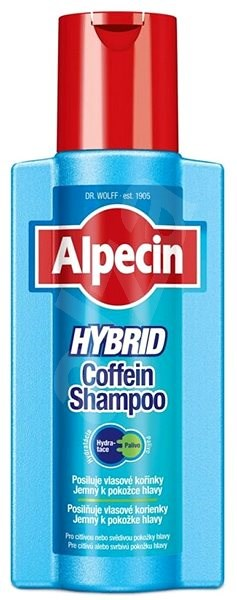 ALPECIN Hybrid Coffein Shampoo 250 ml - Men's Shampoo