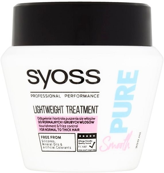 SYOSS Pure Smooth 300 ml - Maska na vlasy