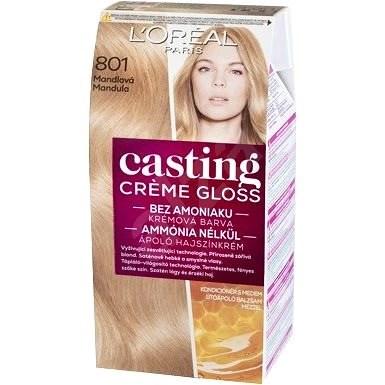 ĽORÉAL CASTING Creme Gloss 801 Blond saténová - Barva na vlasy