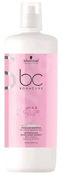 SCHWARZKOPF PROFESSIONAL BC Bonacure pH 4.5 Color Freeze Silver Micellar 1000 ml - Silver šampon