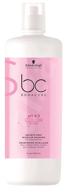 SCHWARZKOPF PROFESSIONAL BC Bonacure pH 4.5 Color Freeze Sulfate Free Micellar 1000 ml - Šampon