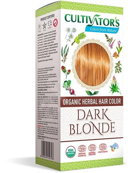 CULTIVATOR Natural 4 Tmavá blond 4× 25 g - Přírodní barva na vlasy