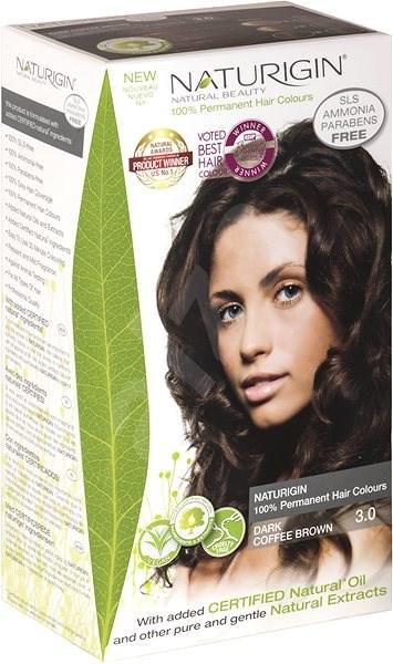 NATURIGIN 3.0 Dark Coffee Brown 40 ml - Přírodní barva na vlasy