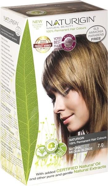 NATURIGIN 7.0 Natural Medium Blonde 40 ml - Přírodní barva na vlasy