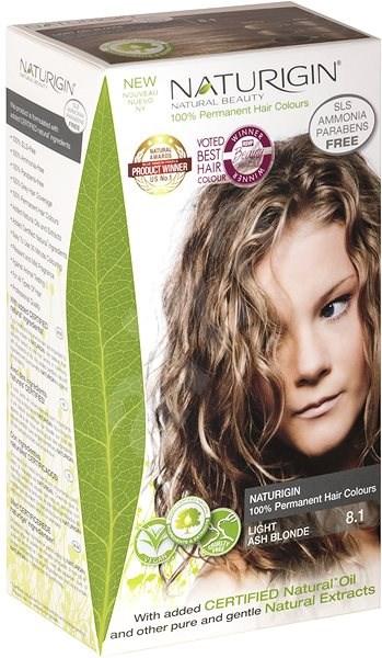 NATURIGIN 8.1 Light Ash Blonde 40 ml - Přírodní barva na vlasy