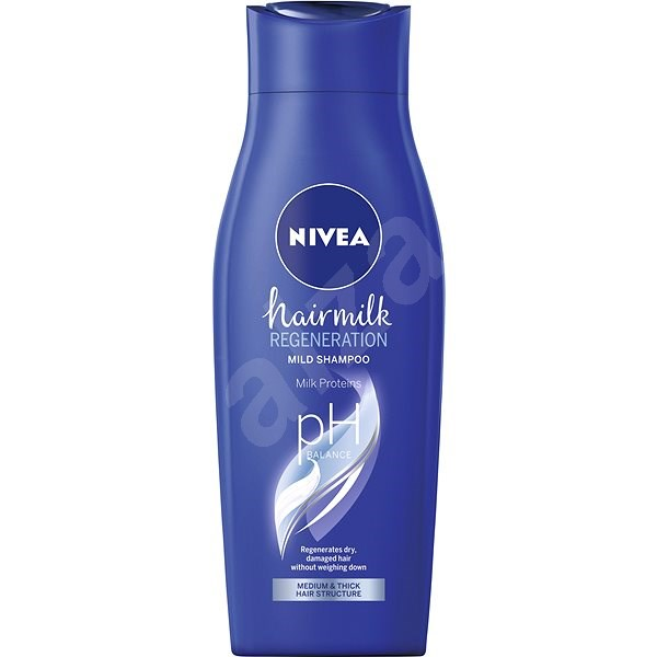 NIVEA Hairmilk Shampoo 400 ml - Šampon