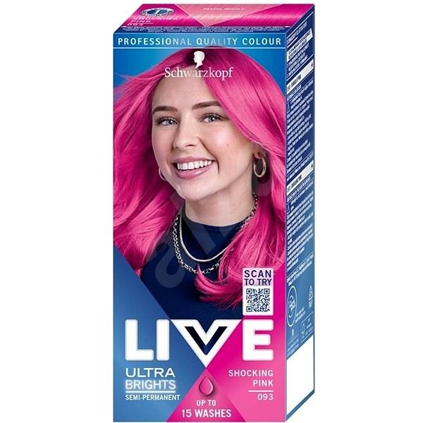 SCHWARZKOPF LIVE COLOR XXL 93 Shocking Pink 50 ml - Hair Dye
