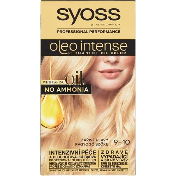 SYOSS Oleo Intense 9-10 Zářivě plavý  50 ml - Barva na vlasy