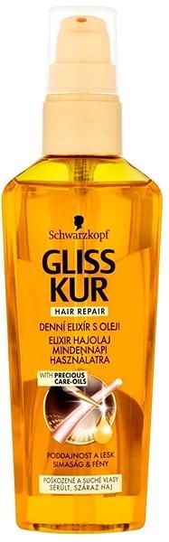 SCHWARZKOPF GLISS KUR Ultimate Repair Express 75 ml - Olej na vlasy