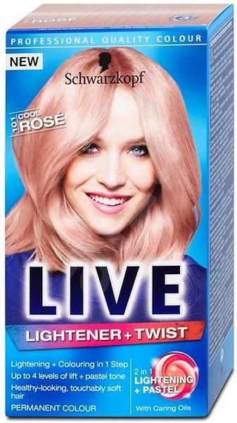 SCHWARZKOPF LIVE Lightener & Twist 101 Cool Rose (50 ml) - Zesvětlovač vlasů