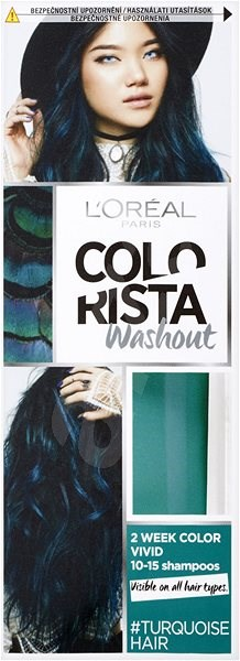 LOREAL PARIS Colorista Washout Turquoise Hair 80ml - Hair Dye