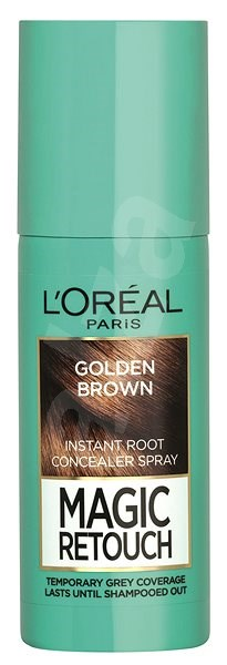 ĽORÉAL PARIS Magic Retouch 10 Golden Brown 75 ml - Sprej na odrosty