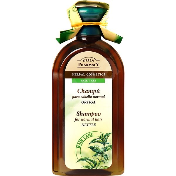 GREEN PHARMACY Šampón pro normální vlasy Kopřiva 350 ml - Šampon