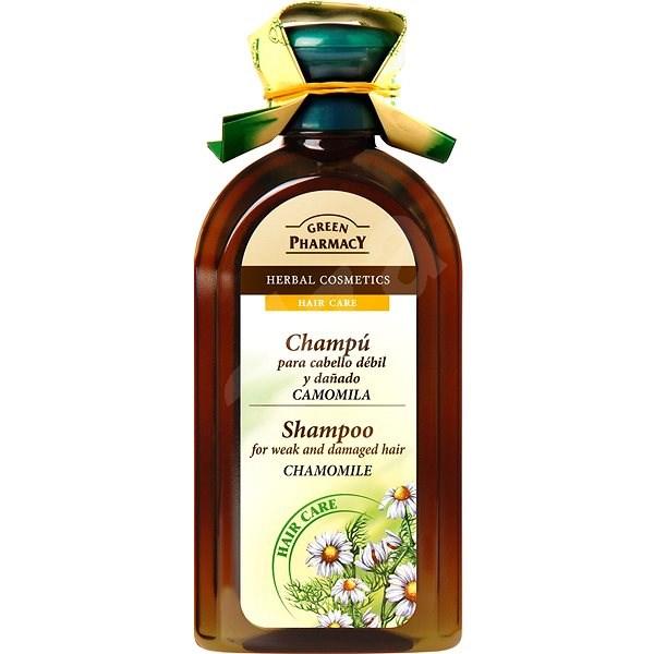 GREEN PHARMACY Shampoo For Weak And Damaged Hair Chamomile 350 ml - Šampon