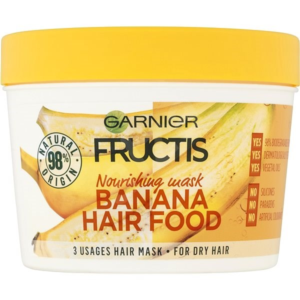 GARNIER Fructis Banana Hair Food 390 ml - Maska na vlasy  4dd3c0ed592