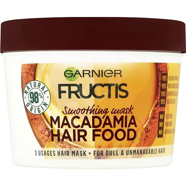 GARNIER Fructis Macadamia Hair Food 390 ml - Maska na vlasy  63299d7bf19