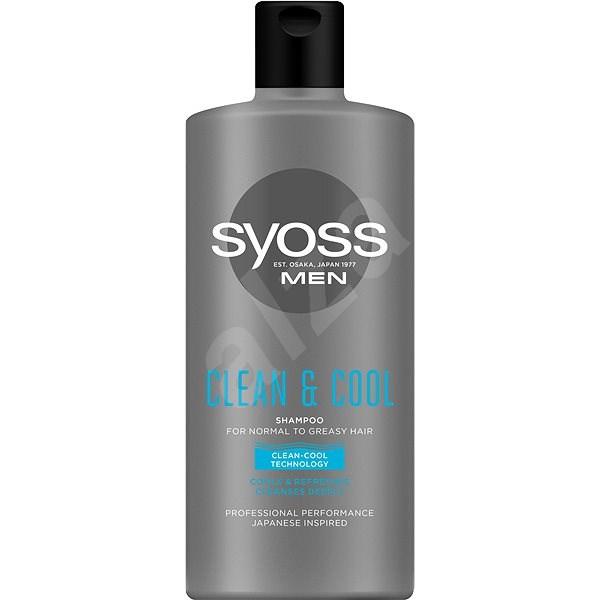 SYOSS MEN Clean&Cool 500 ml - Šampon pro muže