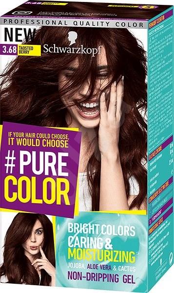 Schwarzkopf Pure Color 368 Tmavá Třešeň 60 Ml Barva Na Vlasy