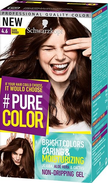 Schwarzkopf Pure Color 46 Tmavá čokoláda 60 Ml Barva Na Vlasy