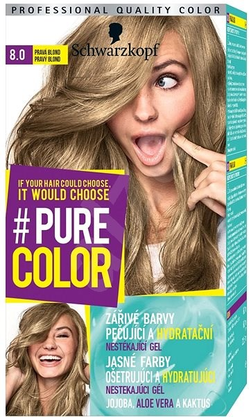 barva na vlasy blond