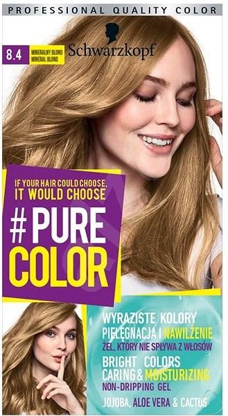 Schwarzkopf Pure Color 84 Minerální Blond 60 Ml Barva Na Vlasy