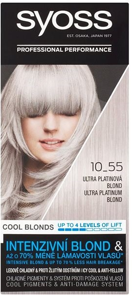 SYOSS Color 10-55 Ultra platinová blond - Zesvětlovač vlasů