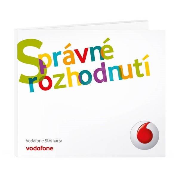 Vodafone mobilní internet na 12 měsíců, FUP 600MB, bez modemu (micro SIM) -