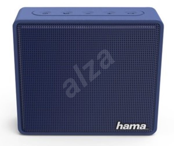 Hama Pocket modrý - Bluetooth reproduktor