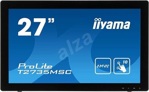 "27"" iiyama ProLite T2735MSC-B2 MultiTouch - LCD monitor"