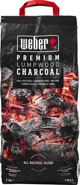 Weber Premium dřevěné uhlí, 3kg - Brikety