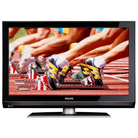 "37"" LCD TV PHILIPS 37PFL5322, 5000:1, 500cd/m2, 6ms, HDready 1366x768, 2xSCART, 2xHDMI, S-Video, pod - Televize"
