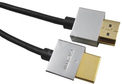PremiumCord Slim HDMI propojovací 2m - Video kabel