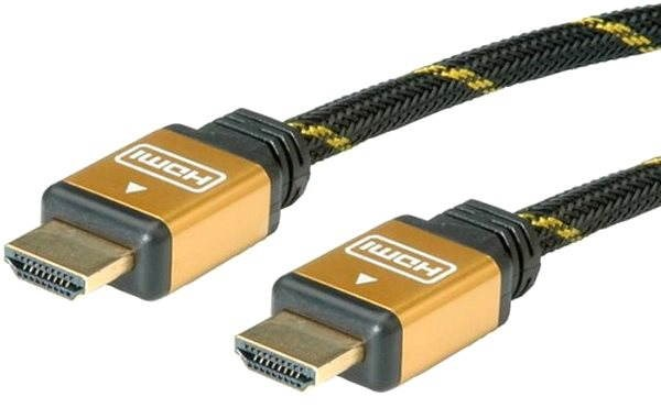 ROLINE HS HDMI High Speed s Ethernetem (HDMI A M <-> HDMI A M), 0.3m - Video kabel