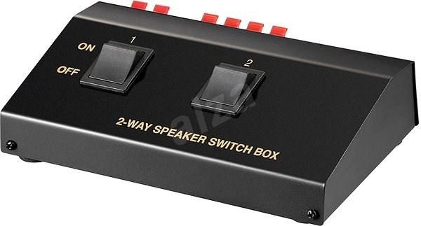 OEM Přepínač reproduktorů 2:1, stereo, manuální - Přepínač