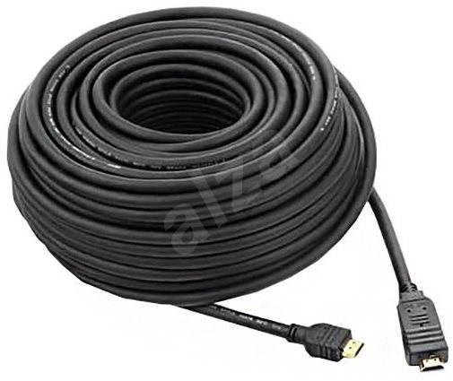 PremiumCord HDMI High Speed s podporou 4K a ethernetem propojovací 15m černý - Video kabel