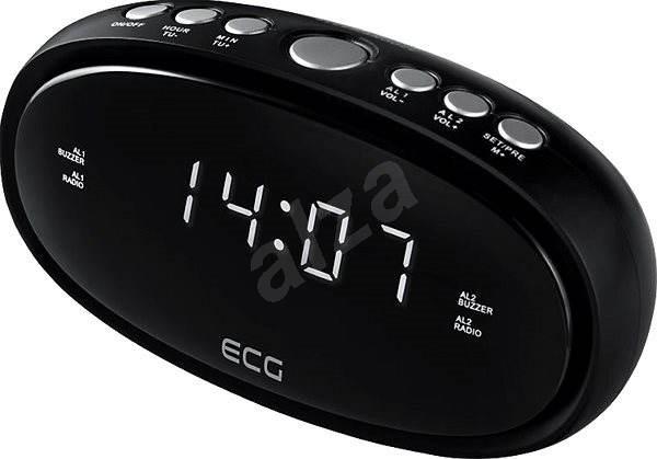 ECG RB 010 černý - Radiobudík