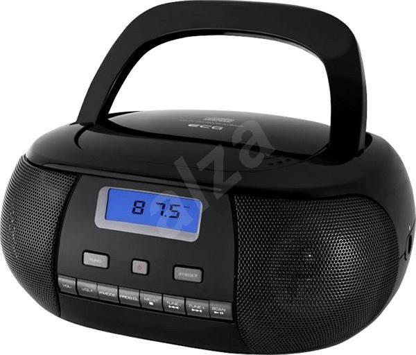 ECG CDR 500 černý - Radiomagnetofon
