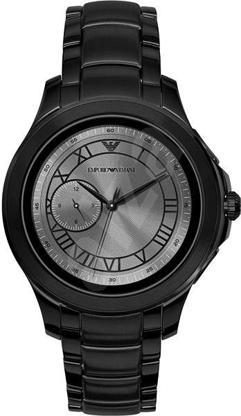 Emporio Armani Alberto Stainless Steel Black - Chytré hodinky