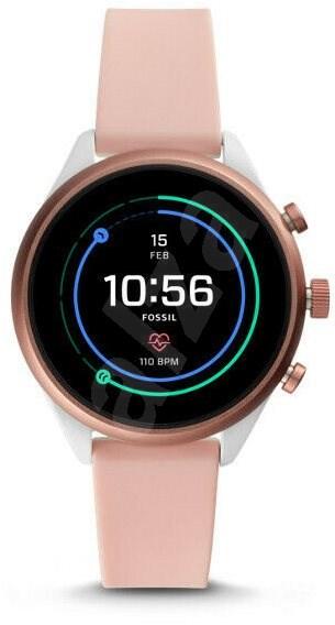 Fossil Sport Blush Silicone - Chytré hodinky