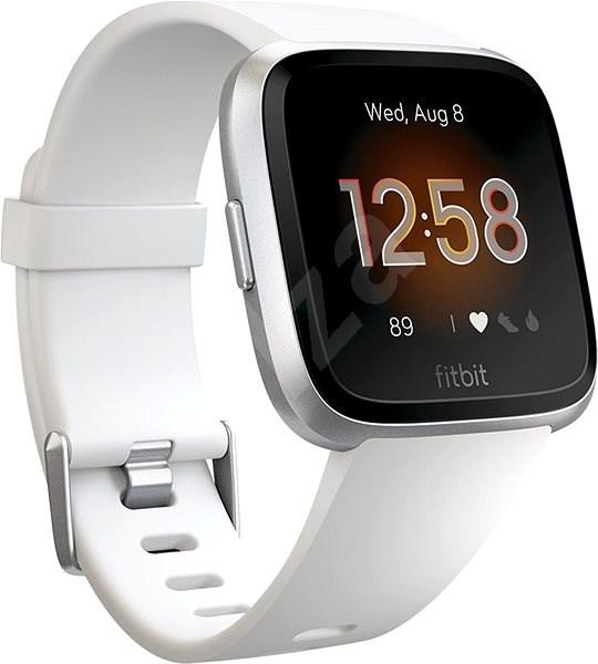 Fitbit Versa Lite - White/Silver Aluminum - Chytré hodinky