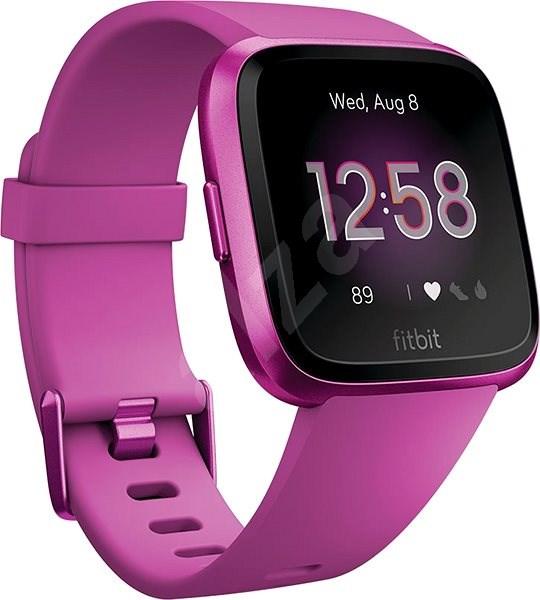 Fitbit Versa Lite - Mulberry/Mulberry Aluminum - Chytré hodinky