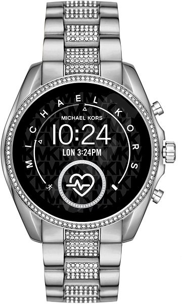 Michael Kors Bradshaw Silver   - Chytré hodinky