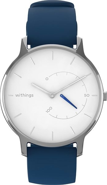 Withings Move Timeless Chic - White / Silver - Chytré hodinky